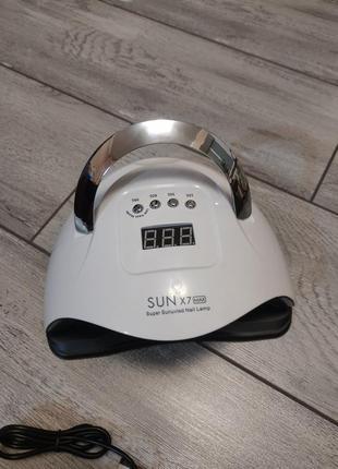 Smart лампа для маникюра sun x 7 max 180w