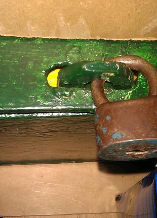 Замок навесной ссср с одним ключем