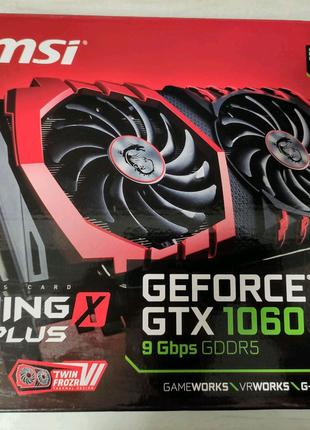 Видеокарта MSI Gaming Geforce GTX 1060 6GB игровая 100% рабочая!