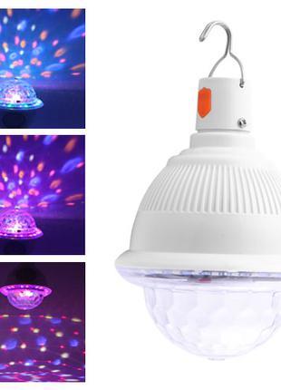 Лазер диско CY-6742 UFO Bluetooth колонка, crystal magic ball