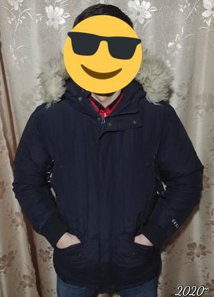 Зимний Пуховик BrownBreath оригинал. утка, теплый.Куртка/парка...