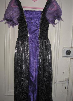 Платье карнавальное.7-8 лет.рост  122-128см