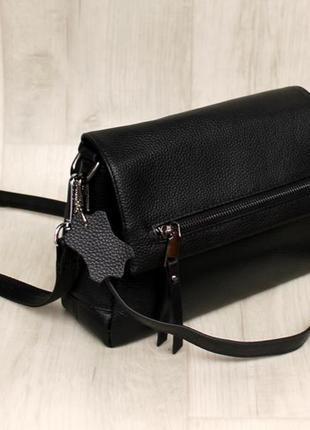 Женская сумка натуральная кожа кожаная сумка маленькая кожаная...