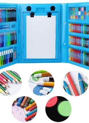 Набор для детского творчества в чемодане из 208 предметов (c35dR)