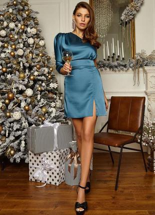 Платье  королевский атлас  85 см