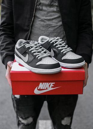 """Nike sb dunk «black\grey""""🆕 шикарные кроссовки найк 🆕 купить на..."""