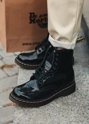 Ботинки Dr. Martens 1460 Black Lacquer