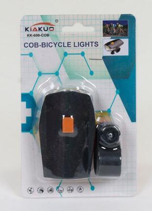 Светодиодная фара для велосипеда C 40296 на батарейках, на листе