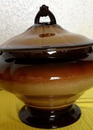 Керамическая Супница 3 лита конец 90х