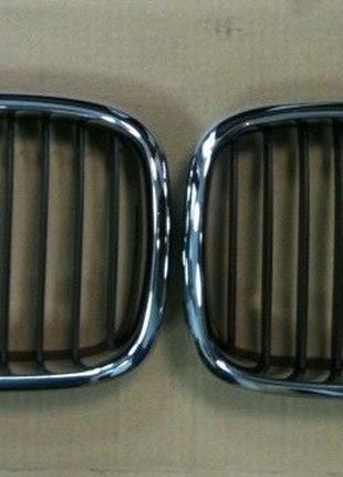 Решётка Ноздри Бампер Туманки BMW E39 ноздри БМВ 5 Е39