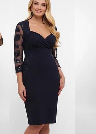 Нарядные вечерние платья больших размеров