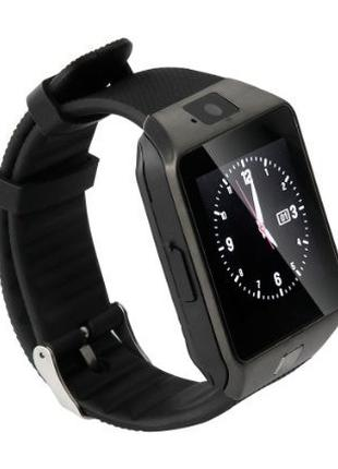 Умные часы Smart Watch GSM Camera DZ09 Black 296852