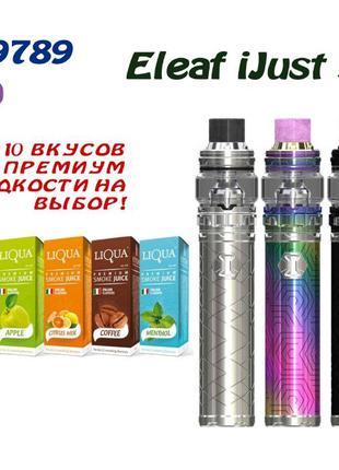 Вейп Eleaf iJust 3 Kit электронная сигарета + Жидкость!! (97l0g)