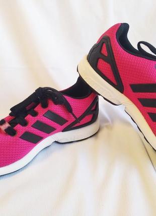 Кроссовки женские розовые adidas torsion zx flux