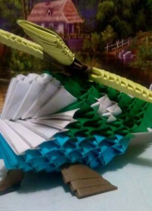 Модульное оригами ВЕРТОЛЁТ. Поделки