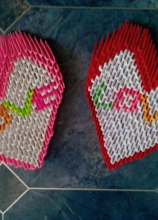 Сердце Поделки. Модульное оригами 14 февраля, подарок