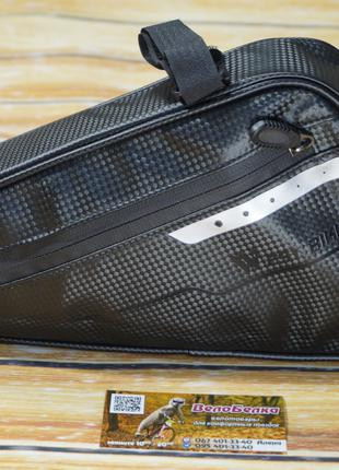 Велосипедная водонепроницаемая сумка треугольник WEST BIKING