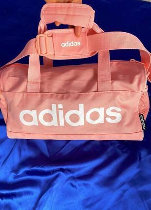 Сумка для тренировок дорожная городская adidas lin duffle xs о...