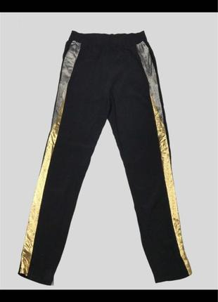 Оригинал брюки-джогеры с лампасами