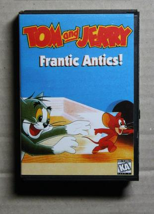 Tom and Jerry - Frantic Antics! | Sega Mega Drive | Игровой Картр