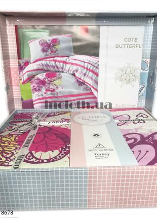 Детское постельное белье Victoria для девочки