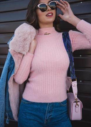 Очень теплый, шерстяной джемпер, свитер