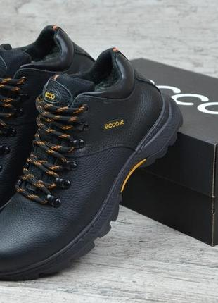 Натуральная кожа тактические мужские зимние кожаные ботинки на...