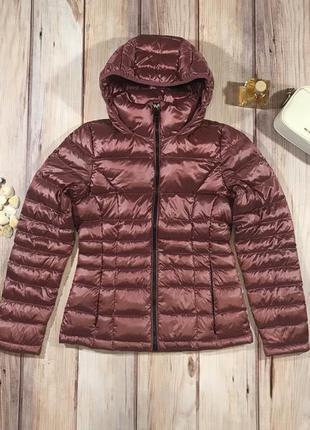 Женская куртка пуховик calvin klein - новая - xs