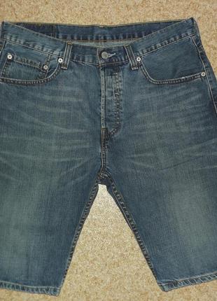 Оригинальные джинсовые шорты levis - модель 01738