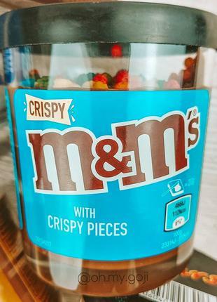 Шоколадные пасты 🖤 со вкусом любимых батончиков. M&M's
