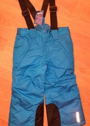 Полукомбинезон lupilu штаны брюки зимние лыжные лупилу