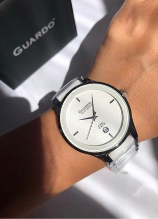 Керамические часы Guardo
