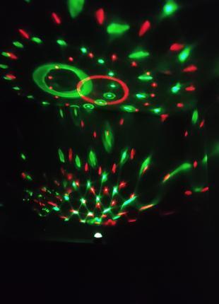 Светодиодный диско шар с пультом Led Party Light