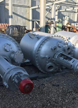 Реактор из нержавеющей стали от 5 литров до 50м3. Нержавейка