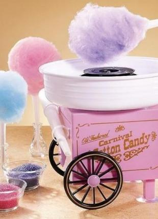 Аппарат для приготовления сладкой ваты Cotton Candy Maker Большой