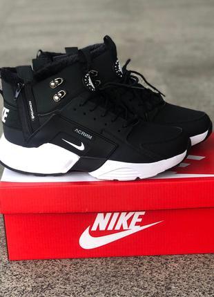 Кроссовки Nike Air Huarache Acronym Black/white
