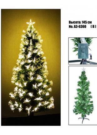 Новогодняя ёлка елка 1,5 метра + гирлянда
