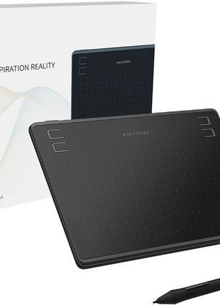 Графический планшет Huion HS64 + перчатка в подарок