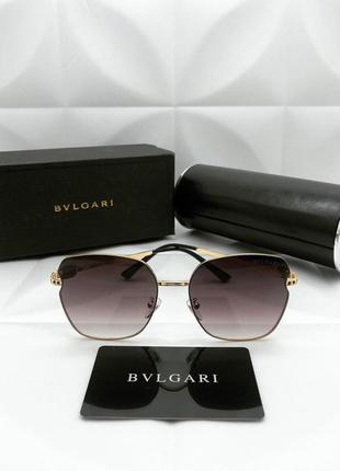 Женские солнцезащитные очки в стиле bvlgari🔥люкс качество