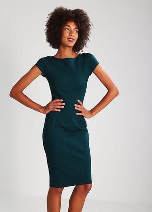 Платье -джерси от бренда сloset  .цвет-jade {нефрит} размер s.