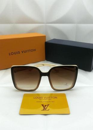 Женские солнцезащитные очки в стиле louis vuitton 🔥