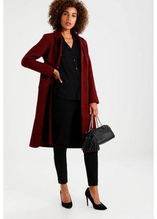 Классическое.новое. красное пальто mint & berry.