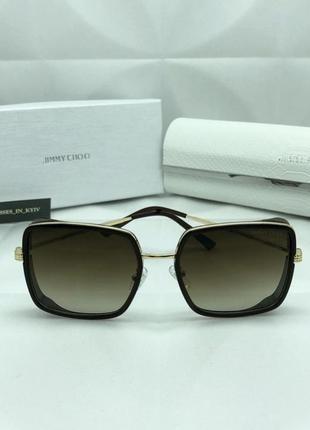 Женские солнцезащитные очки в стиле jimmy choo 🔥топ качество