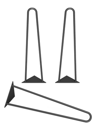 Ножка из металла, h-450мм 1135