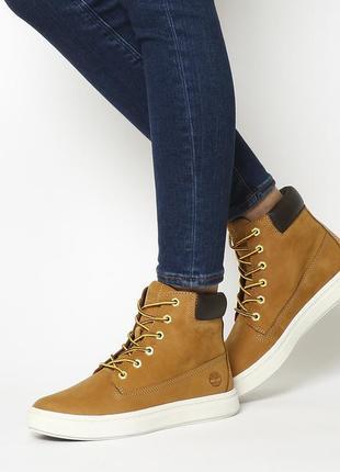 Ботинки timberland londyn 6 inch boots wheat nubuck -размер 39.5