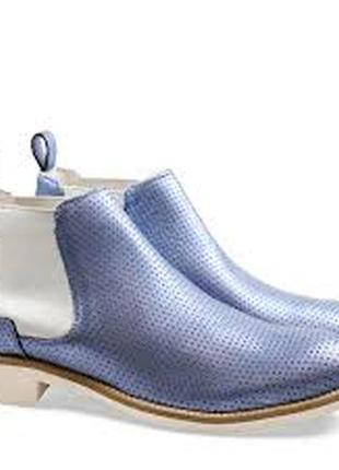 Кожаные ботинки melvin & hamilton -39р-р