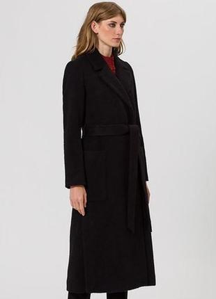 Черное пальто ivy & oak. размер l