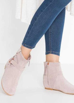 Замшевые ботинки от ted baker
