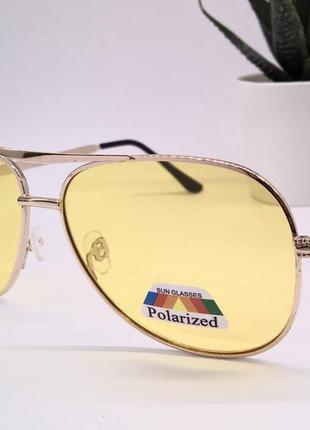 Очки  желтые для ночного вождения