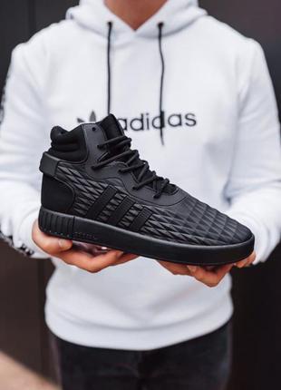 👟 кроссовки мужские  adidas tubular адидас зимние  / наложенны...